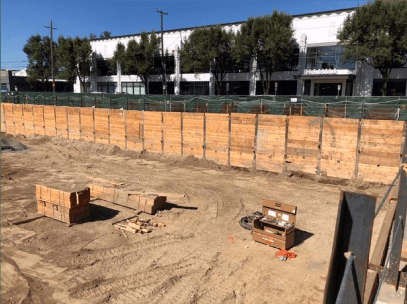 Demolition; Earthwork-Mass Excavation; Shoring with Tieback Anchors