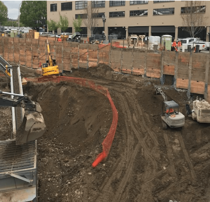 Building Demolition and Site Prep; Shoring, Tie-backs and Underpinning