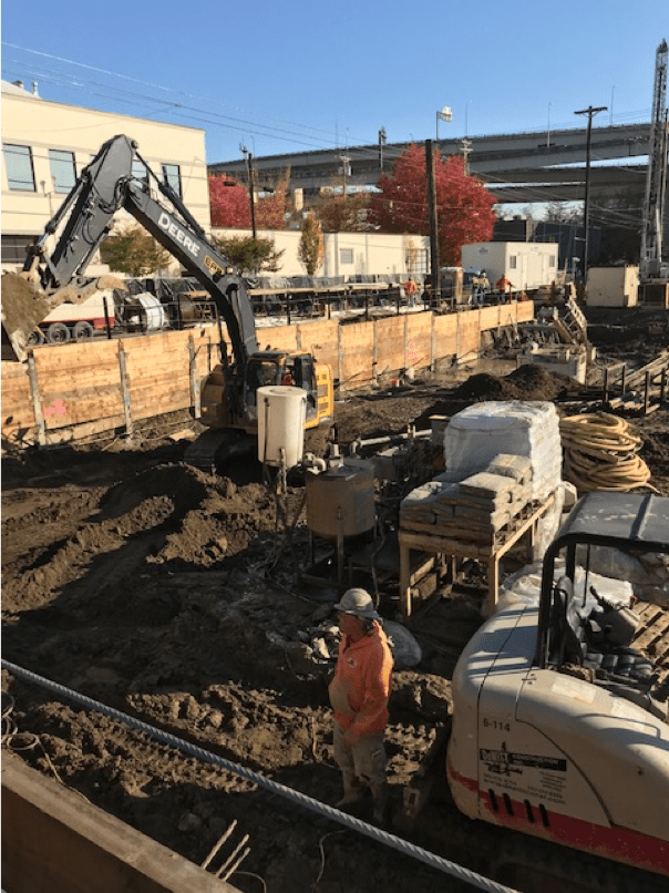 Shoring, Tie-backs and Underpinning