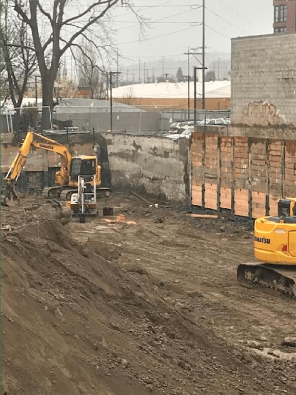 Demolition; Earthwork; Shoring